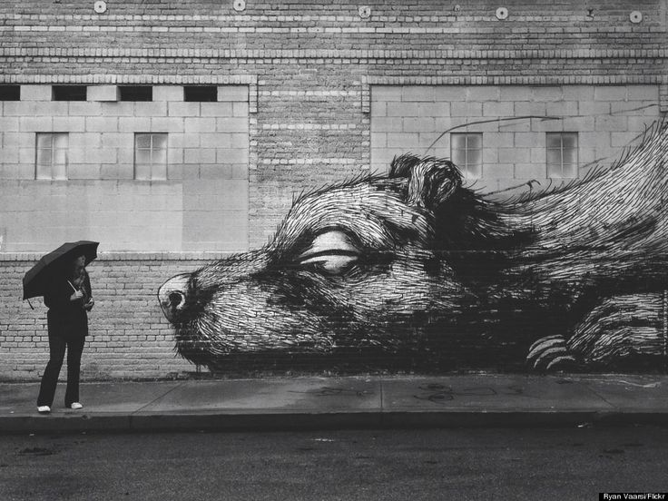 Mind-blowing street art in L.A.