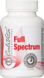 A Full Spectrum közel 30-féle, a szervezet működéséhez nélkülözhetetlen vitamint, antioxidánst és ásványi anyagot tartalmaz egyetlen tablettában, extra bioflavonoidokkal. Kiemelkedő hatékonyságát a benne lévő szerves kötésű hatóanyagok mennyisége, valamint az elnyújtott felszívódás (delayed release technológia) biztosítja.
