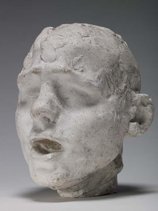 1887 Head of a Slave, Camille Claudel
