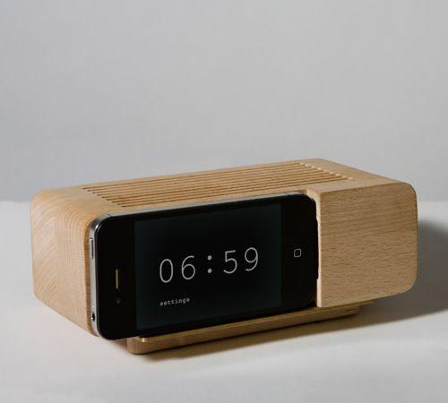 ::Iphonealarm, Alarmdock, Alarm Clocks, Iphone Alarm, Alarm Dock, Areaware Alarm, Jonas Damon, Iphone Dock, Products