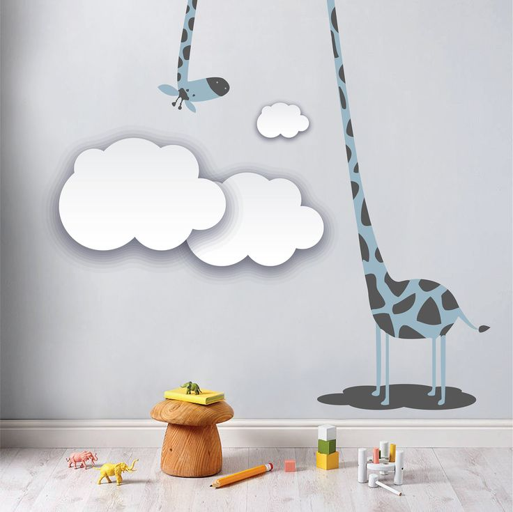 Love our blue Giraffe, Gerald! Order:  hello@roomsinabox.co.za. We are based in Pretoria, South Africa. DIY Decor Boxes for your nursery or toddler/ children rooms. www.roomsinabox.co.z