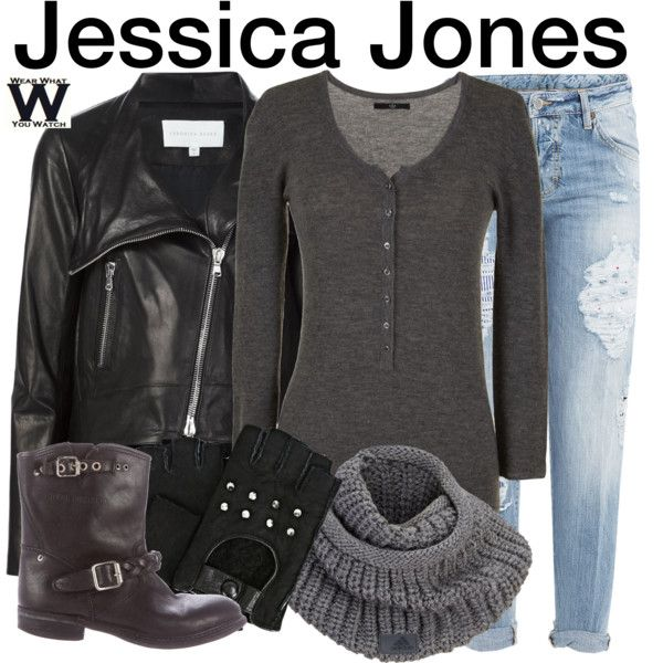 Inspired by Krysten Ritter as the title character on Netflix's Jessica Jones.