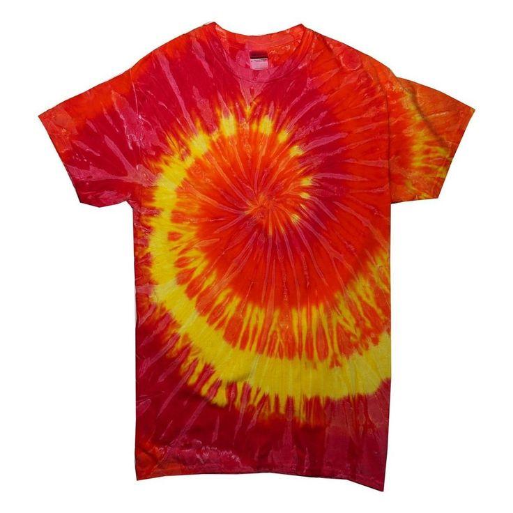 Tie Dye t shirt hippie moda 60 maglia uomo donna hippy tye die  S M L XL XXL