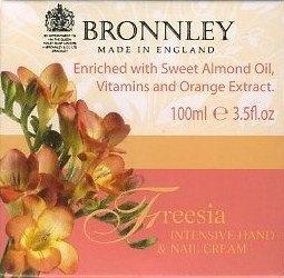 Bronnley Freesia Intensive Hand Nail Cream from Bronnley - Pedicure N Manicure - £9.95 - http://www.pedicurenmanicure.com/bronnley-freesia-intensive-hand-nail-cream/