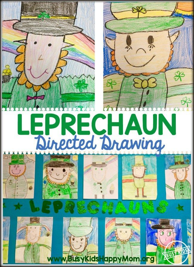 How to Draw a Leprechaun.  Do you feel pressured when asked to draw something?  I do.  After trying our hand at drawing a reindeer in December, we decided to try a Leprechaun for St. Patrick's Day.  Success!   Even your most hesitant child will feel like an artist.  Read on to find out How to Draw a Leprechaun. This is …