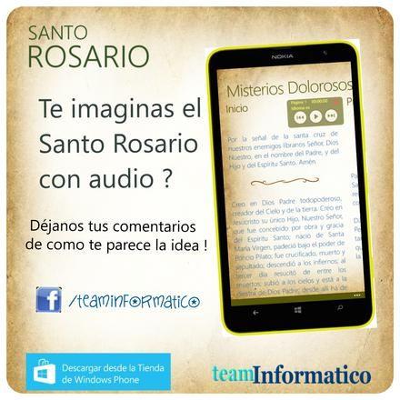 Santo Rosario con Audio ?