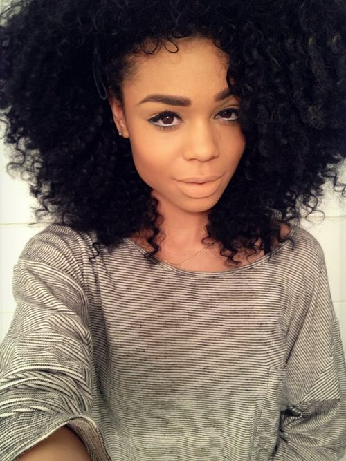 36 best images about big curly hair on pinterest Big and natural tumblr