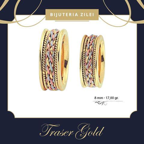 A fi iubit fara a seduce e unul din frumoasele destine ale omului. - Andre Malraux   Gramaj: 17,00 gr • Preț: 2.720,00 lei • 0744 373 905 • 0728 985 200  #trasergold #bijuteriazilei #aur #aurgalben #verighete #bijuterii#jewelry #gold #accessories #instajewelry #fashionjewelry #style #stylish #trendy #fashion #weddingring #wedding #weddingband