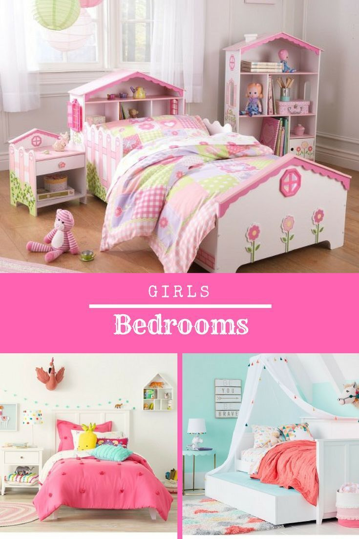Girls Bedroom Ideas! Target Style-Make It Happen! Adorable