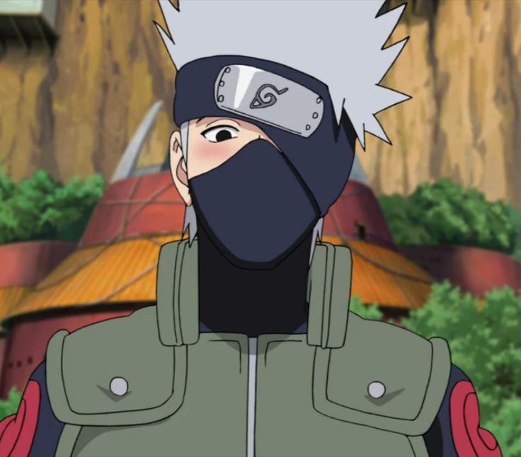 Aww, blushing Kakashi is adorable :3!   Naruto Shippuden 360