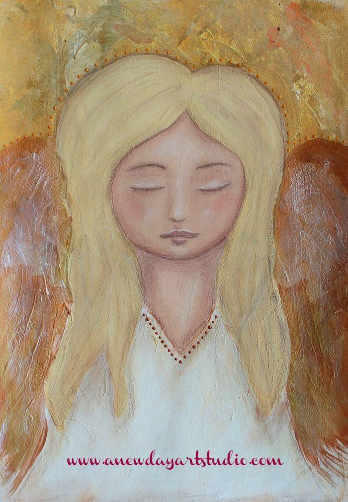 An angel gets it's wings.