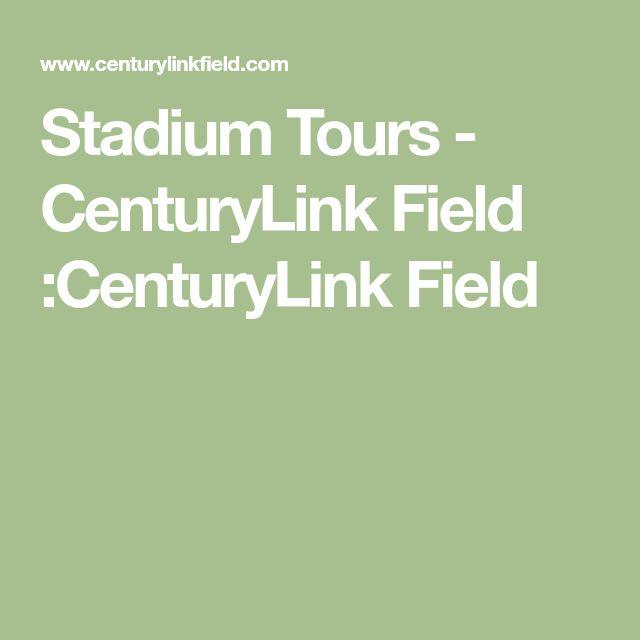Stadium Tours - CenturyLink Field :CenturyLink Field
