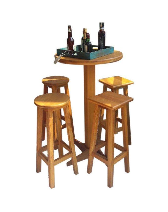 MB02 promocao mesa bistro com cadeiras mesa madeira demolicao bela rustica movel de madeira