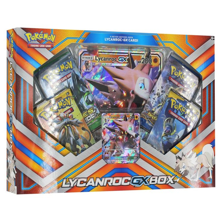 2017 Pokemon Trading Card Game Lycanroc GX Box