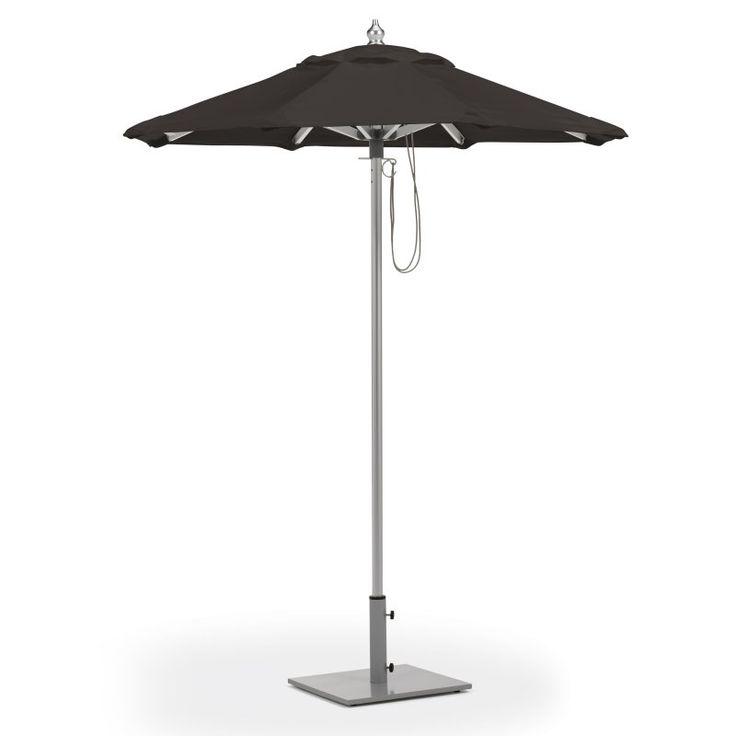 Oxford Garden 6 ft. Octagon Sunbrella Market Umbrella - UA6BK