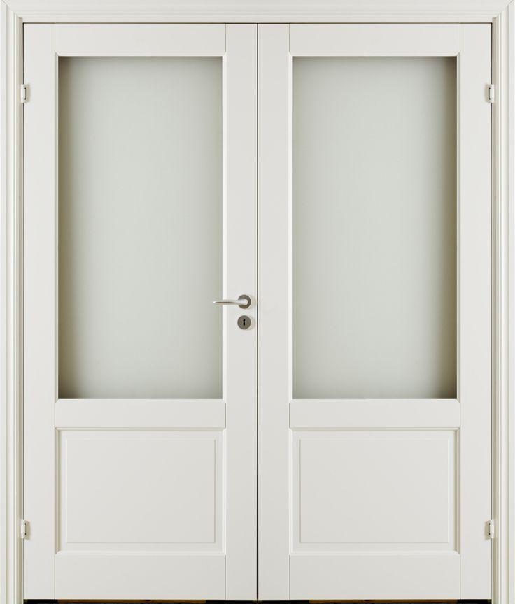 Oden GL2 Double Door - Interior Door made by GK Door, Glommersträsk, Sweden.  www.gkdoor.se