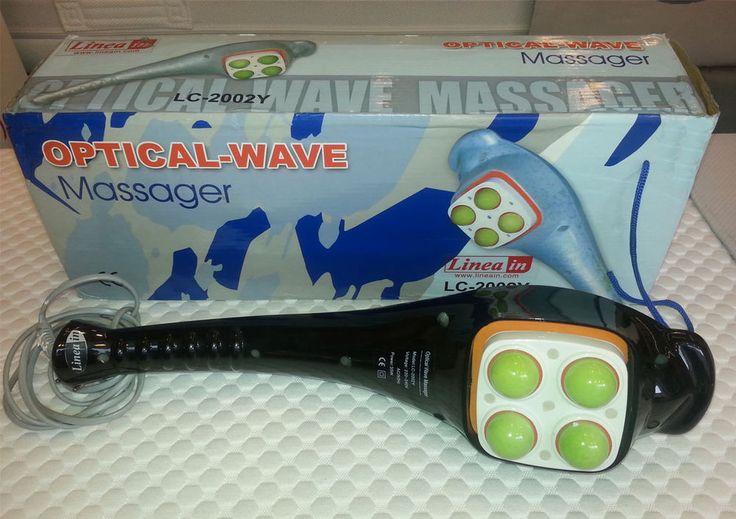 MASSAGGIO relax OPTICAL-WAVE col. nero MULTIFUNZIONE riscaldante