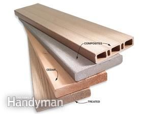 How to Buy Deck Lumber : Deck board options