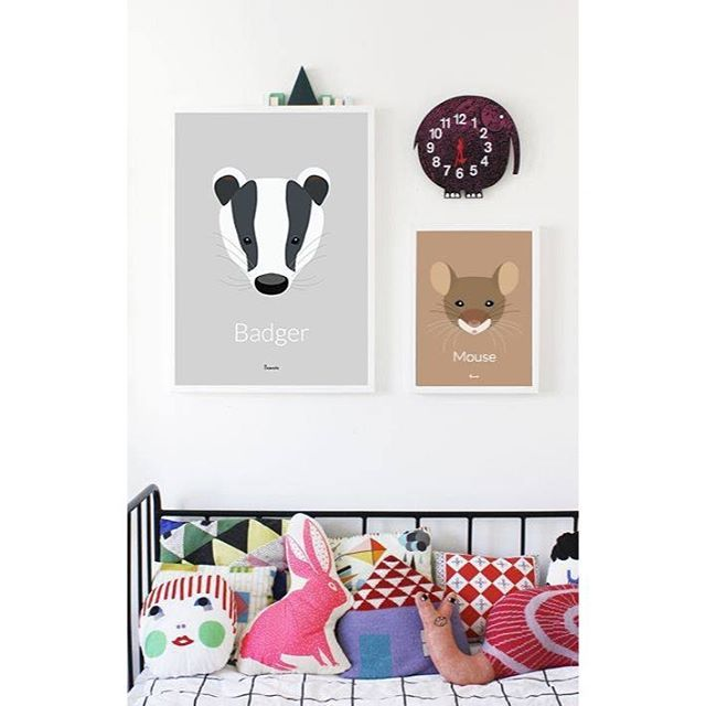 Cute posters for the kids room Design by MarcSouthwellAvailable at www.bomedo.com #bomedo