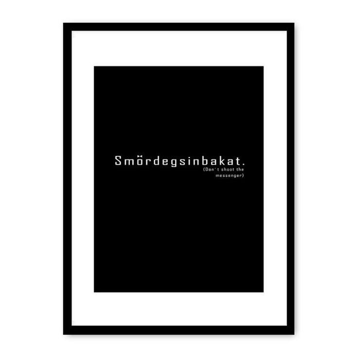 Smördegsinbakat poster i gruppen Posters / Posters hos RUM21.se (112236)