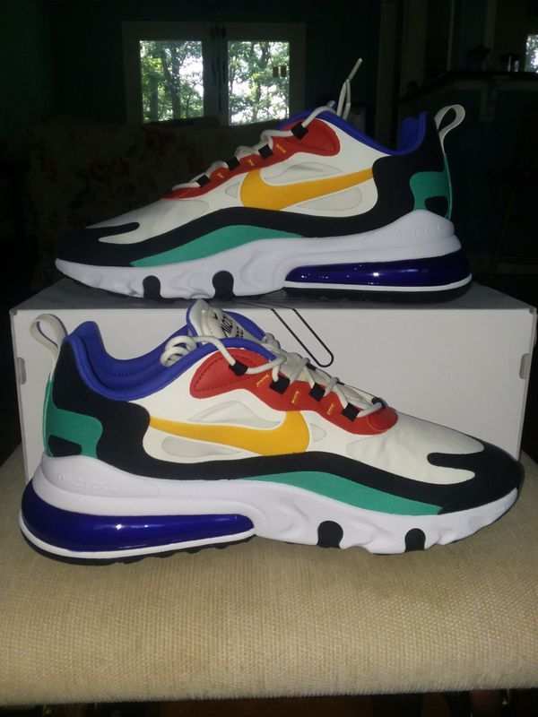 Nike Air Max 270 React Bauhaus Size 11 5 For Sale In Elkton Md