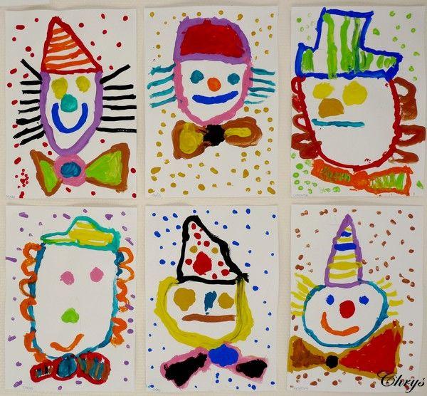 Dagboek Chrys: Veelkleurige clowns DE EERSTE CLOWNS
