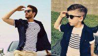 Un bambino di quattro anni ridicolizza modelli e modelle con queste parodie di foto di moda