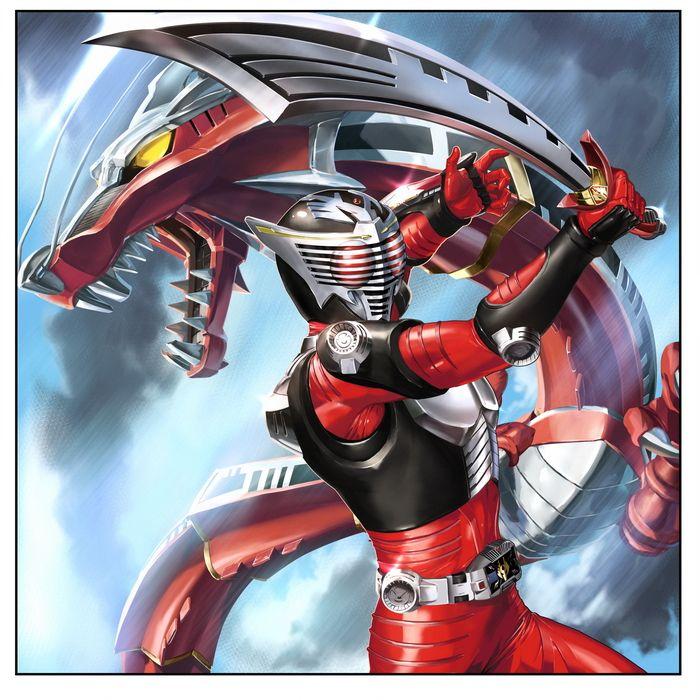 Kamen Rider Ryuki, Kamen