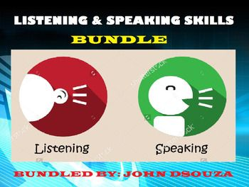 This Bundle Includes:1. DEBATING PRESENTATION2. LISTENING PRESENTATION3. DEBATING LESSON4. LISTENING LESSON5. INTERVIEWING LESSON6. SPEAK-LISTEN RUBRICSMORE PRODUCTS BY THE AUTHOR:* PREPOSITIONS* PHRASES* CLAUSES* ADJECTIVES* CONNECTIVES* LETTER WRITING* PROSE COMPREHENSION* HEALTH TIPS* SPECIAL NEEDS APPS* DIGITAL TEACHER* POEM COMPREHENSION* HOMOPHONES-HOMONYMS-HOMOGRAPHS* ANALYZING GUIDES* TENSES* WRITING RESOURCES* SENTENCES* ESL PRESENTATIONS