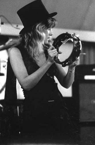 Stevie Nicks. The original white witch. Her music is witchcraft in itself. It's mesmerizing.