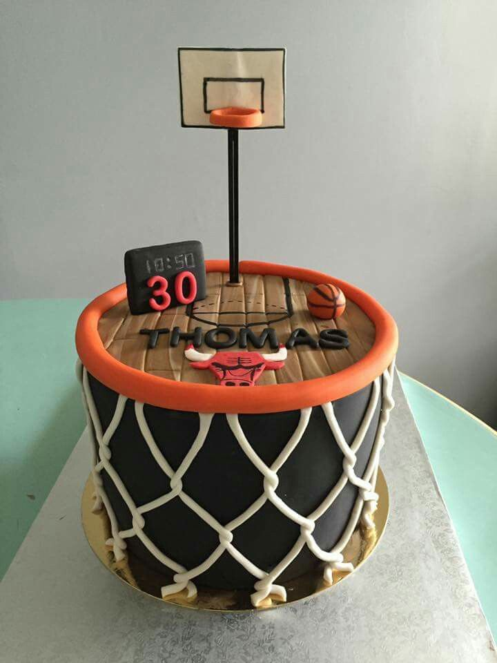 Basketball cake                                                                                                                                                                                 Más (Super Cool Desserts)