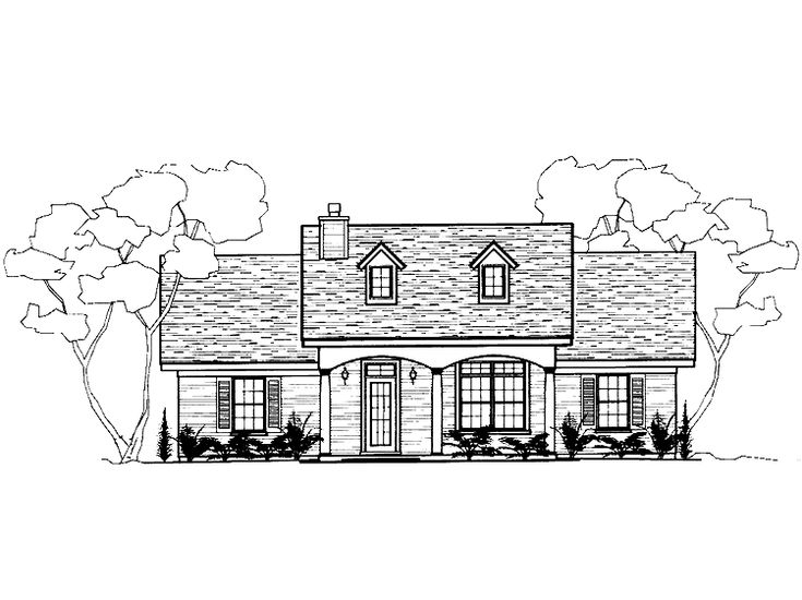 Eplans Ranch House Plan Three Bedroom Ranch 1288