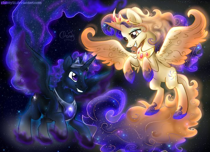 Celestia and Luna's Parents