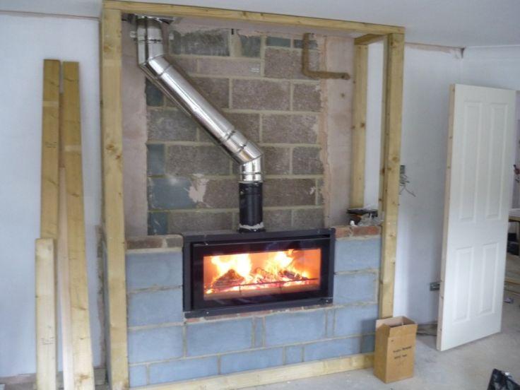 Stovax Riva Studio 2 Edge  The Billington Partnership  Villina  peis  Modern fireplace Wood