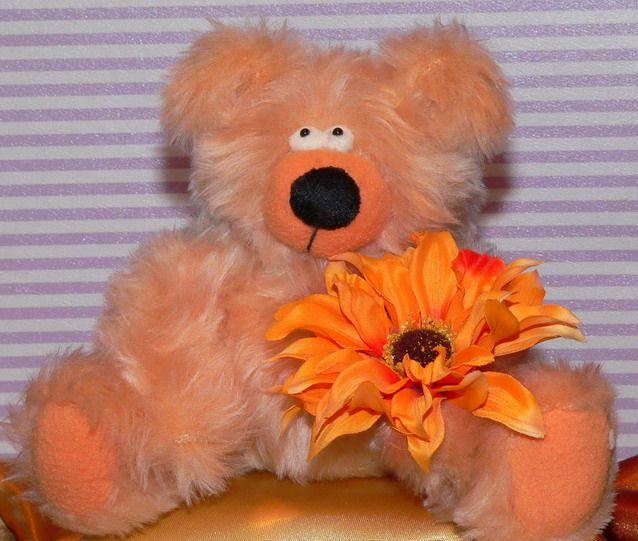 Mafi11 oranžový medvídek