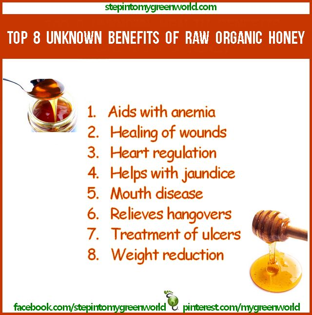 What can honey do for health?