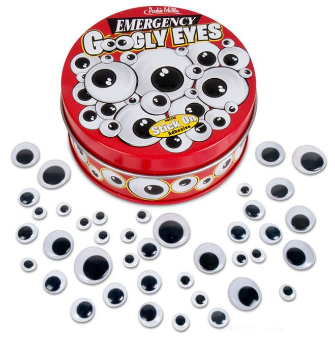 Emergency Googly Eyes | Funny Office Gift, Cute Gift for Teen, Humorous Desk Accessory, Stocking Stuffer | Catching Fireflies