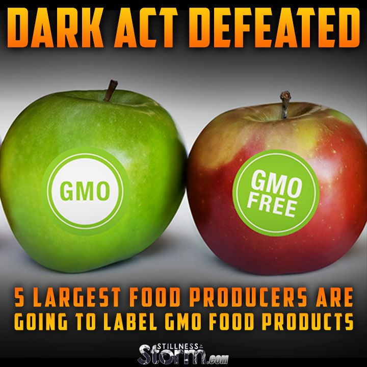 DARK Act Defeated | 5 Largest Food Producers Are Going to Label GMO Food Products: Campbell's Soup, ConAgra Foods, Kellogg's, General Mills and Mars, Inc