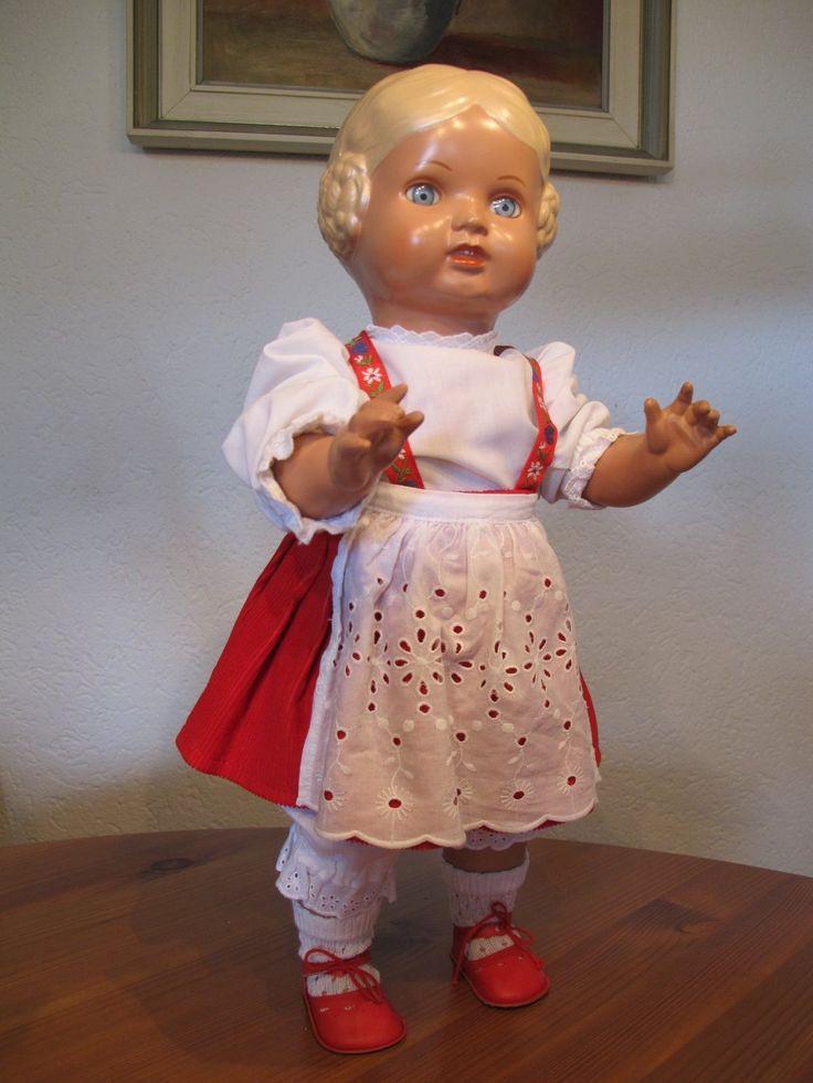 Schildkröt Puppe Bärbel 46cm | eBay