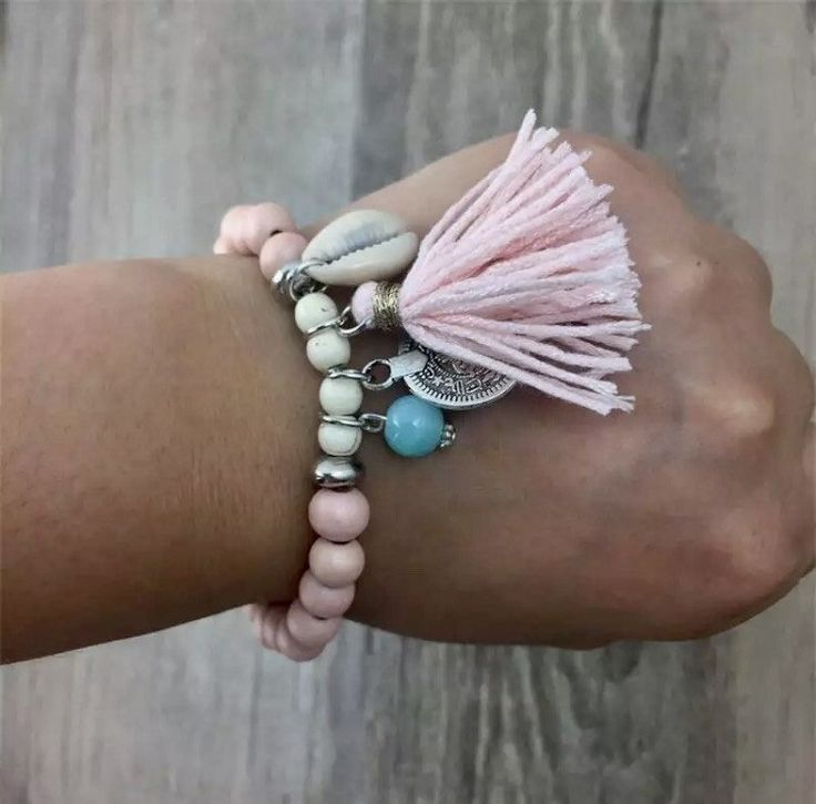 BOHEMIAN Bracelet Pink trend for this summer