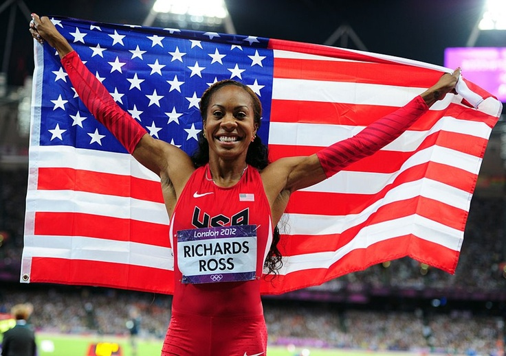 Texas Longhorns  LONGHORNS IN LONDON [Sun 8/5 recap]: Sanya Richards-Ross wins her first individual gold medal in the 400m (49.55). Leo Manzano advances to Tuesday's 1500m finals. Destinee Hooker leads USA Volleyball to a 3-0 win over Turkey with 19 points. Melaine Walker advances to the 400m hurdles semifinals, while Raasin McIntosh finishes 32nd overall in the same event. Schedule at http://www.texassports.com/ot/tex-olympians-2012.html.
