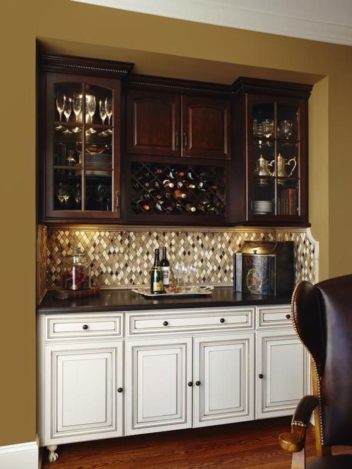 98 best dry wet bar design ideas images on pinterest - Basement kitchen and bar ideas ...