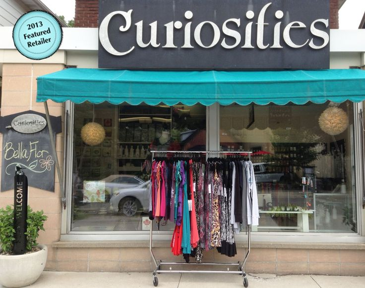 CURIOSITIES 174 1/2 Wortley Rd. London, ON N6C 3P7 PH: 519-432-0434 www.curiositiesgiftshop.com https://www.facebook.com/CuriositiesGiftShop?fref=ts @Curiosites Gift Shop  Curiosities is a unique gift shop that specializes in local and Canadian crafted items. They offer jewellery, clothing, accessories and baby items to name a few. They also carry a large and eclectic selection of greeting cards including: Bald Guy, Exposure, Papaya and Sunday Greetings.