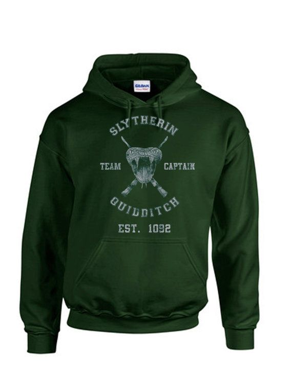 SLYTHERIN  HOODIE by LAFASHIONDESIGNERS on Etsy