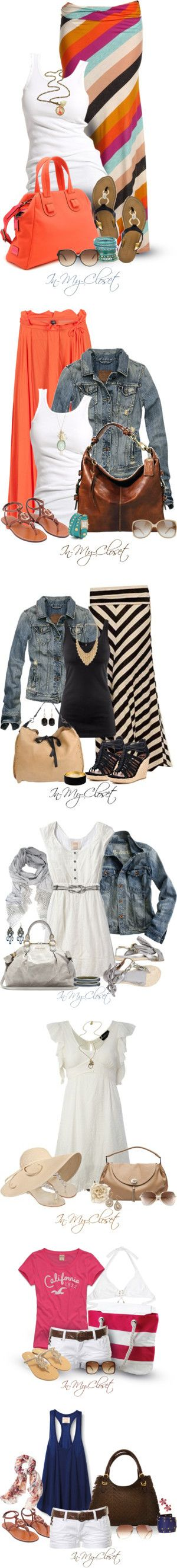 Hurry Up Summer! by in-my-closet on Polyvore featuring moda, Alternative, Soaked in Luxury, Ivanka Trump, Meredith Wendell, Accessorize, Victoria Beckham, meredith wendell, Cheap Monday and Abercrombie & Fitch