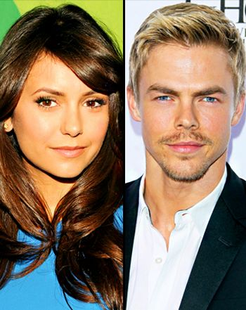 What a step down from Ian, gurl: Nina Dobrev, Derek Hough Dating