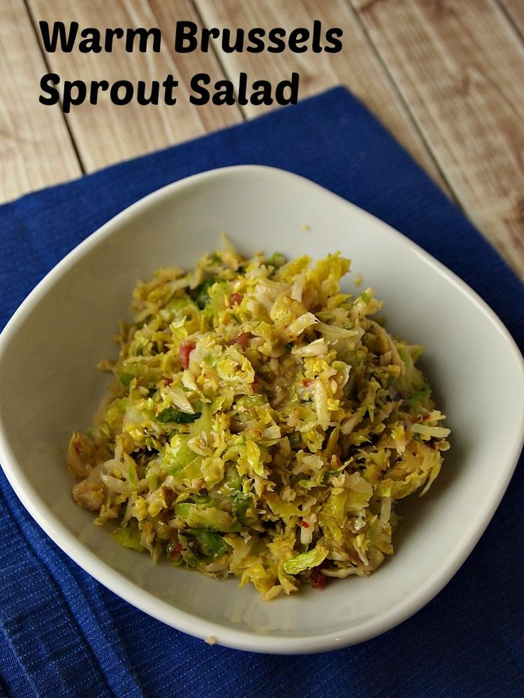 Warm Brussels Sprouts Salad: Recipes Books, Brussels Sprout