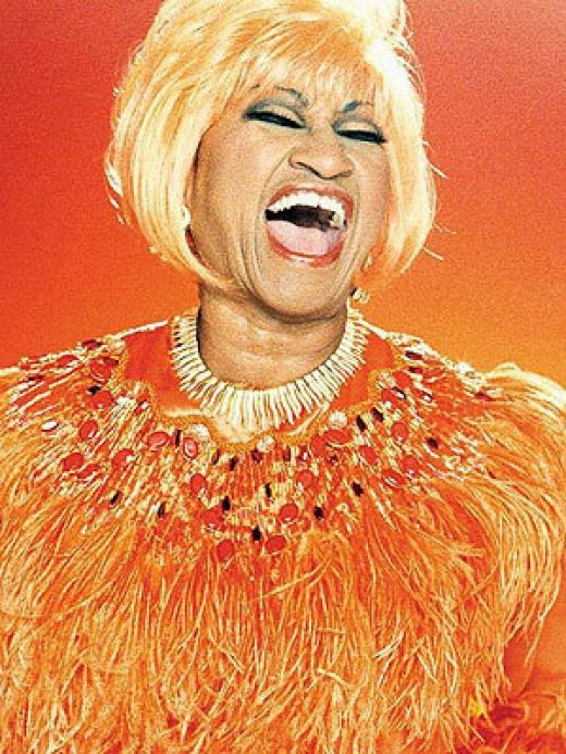 The queen of salsa, Celia Cruz (1925-2003) was blessed with both one of the greatest voices ever, and one of the world's most infectious smiles.