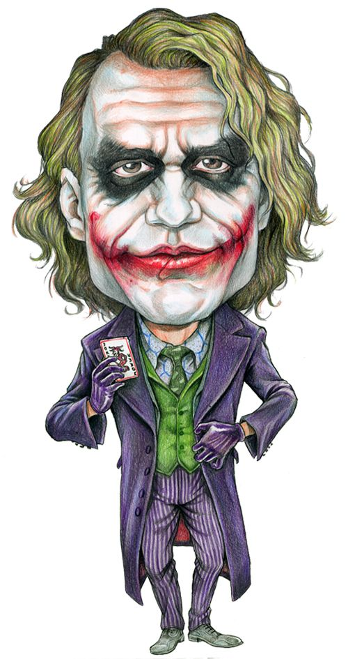Image detail for -Caricature joker by ~AlanRodriguez on deviantART