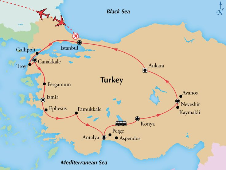 13 Day Turkish Treasures (San Francisco Special),Turkey Tours, Turkey Vacation Package - www.gate1travel.com